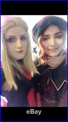 The elder scrolls skyrim cosplay dark brotherhood armour costume TES halloween