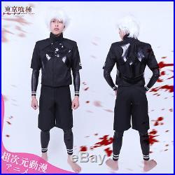 Tokyo Ghoul II Ken Kaneki Cosplay Costume