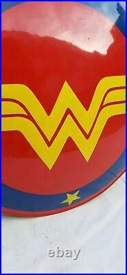 Tout Neuf Dc Super Héros Wonder Woman Bouclier pour Halloween Acier 22 Amazon