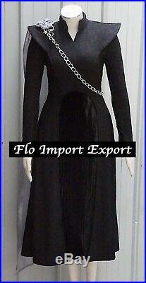 Trono Spade 7 Vestito Carnevale Donna Daenerys Woman Cosplay Costume GTH004
