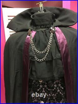 Vampire Halloween Couple Costume Mens Count Dracula Fancy Dress Womens Vampira