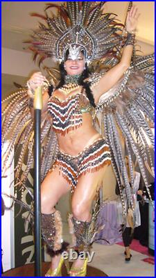 Vegas Show Girl/Carnival Pheasant costume