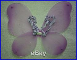 Wholesale Lot 100 Lavender Fairy Princess Butterfly Wings & Wand Costume Sets